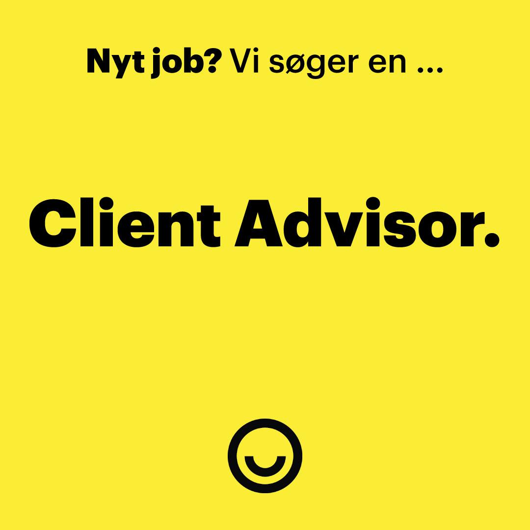 Happy søger en Client Advisor.