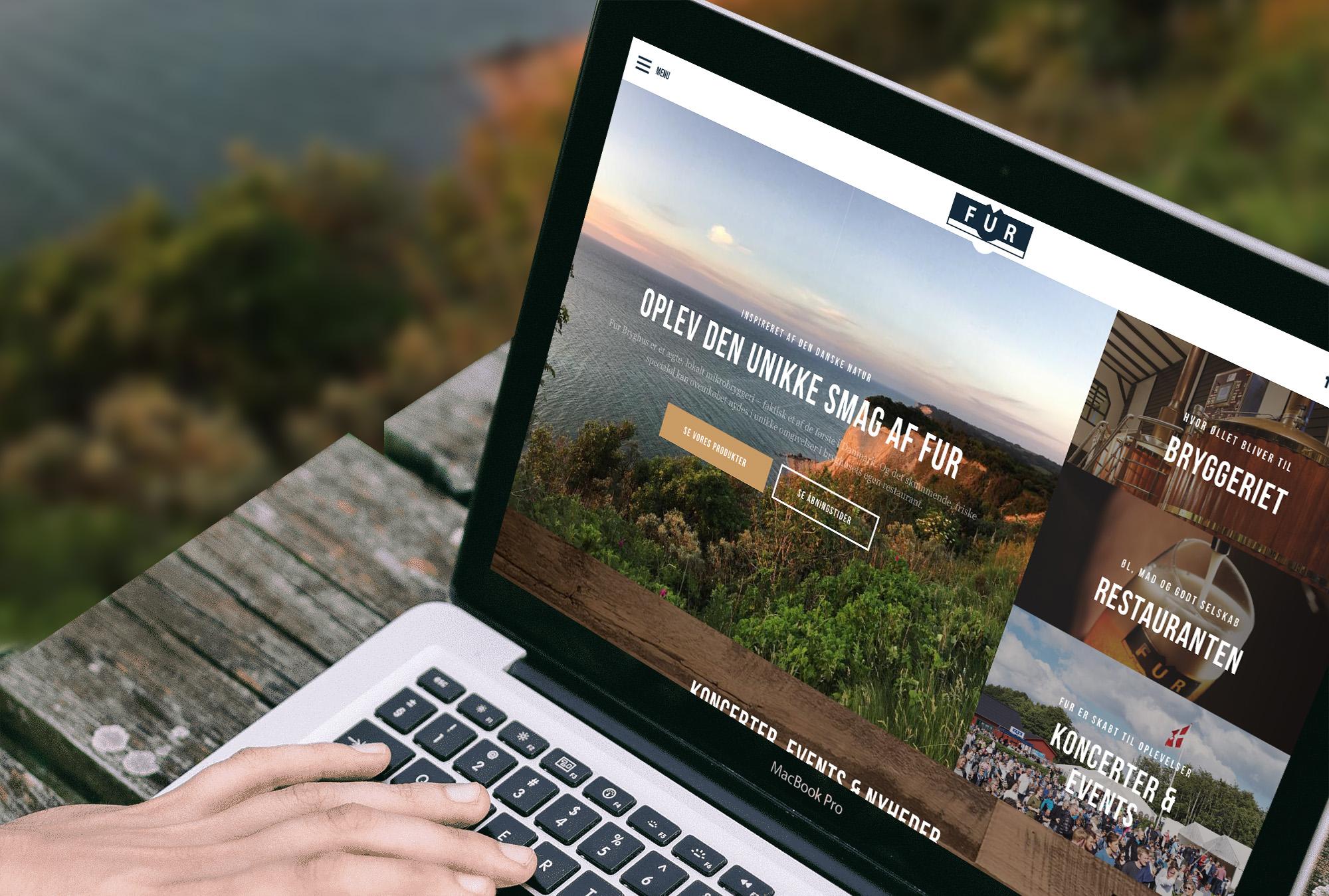 Nyt website puster liv i anerkendt bryghus.